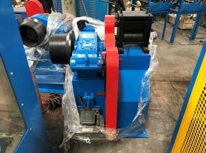 China Blue Butt Welding Machine For Intermediate / Rod Breakdown Machine on sale