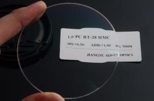 8fe4ec31dc4 ... Quality Finished Round Top 1.59 Polycarbonate Eyeglass Lenses Anti  Reflection Coating for sale ...