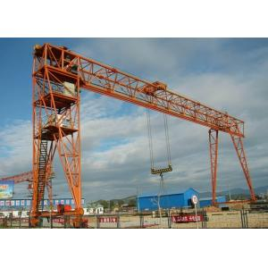 China Outdoor 100 Ton Double Girder Gantry Crane , Material Handling Equipment 7.5-31.5m Span on sale