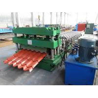 3D Cut Galvanised Steel Roof Tile Roll Forming Machine To Mexico