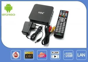 China Multilateral Language Android Smart Iptv Box / Google Android Box For TV Internet on sale