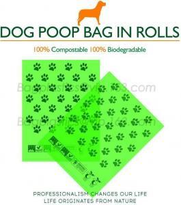 China Wholesale Pet Bone Shape Waste Bag Carrier Holder Case Dispenser Biodegradable Dog Poop Pick Up Bags on sale