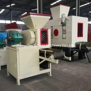 China Slag fluorite microsilica iron ore fines coal dust charcoal mineral powder hydraulic briquetting machine factory price on sale