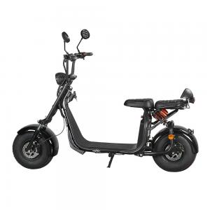 China Citycoco 2 Wheel Electric Scooter 20 Degrees Climb Capability Double Hydraulic Disc Brake on sale