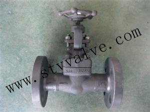 China FORGE STEEL FLANGED GATE VALVE CLASS150-CLASS600 on sale
