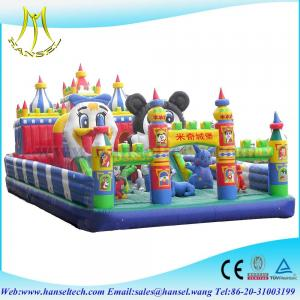 China Hansel commercial pony inflatable bouncer for kids mickey on sale