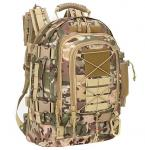 Military Tactical Assault Backpack 3-Day Expandable Backpack Extreme Water Resistant Molle Rucksack For The Outdoors