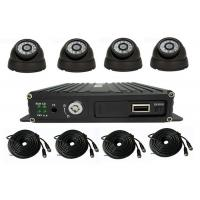 4 Channel School Bus Surveillance Vehicle Security Camera System 720P MDVR Kits