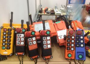 China Industrial Crane Spare Parts / Wireless Radio Remote Control Systems For Mining on sale