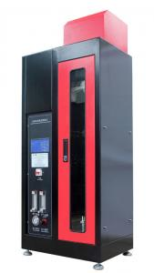 China IEC 60332-1-1 1 KW Single Insulated Wire and Cable Vertical Flame Test Equipment on sale