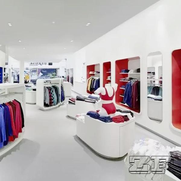 e03d29bc5865cf Delicate display furniture retail sports shop design for sale ...