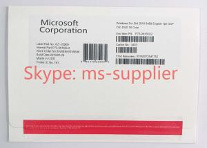 Quality OEM Computer System Softwares , Microsoft Server 2016 Standard DVD 32 64 Bit for sale