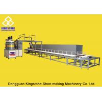 China 40 Stations Rotary Type PU Pouring Machine For Safety Shoes / PLC Control System on sale