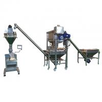 Coffee Scrub Semi Automatic Powder Filling Machine With Load Cell 3 Phase