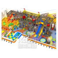 Anti - Toxic Indoor Inflatable Playground Equipment , Giant Indoor Playhouse With Slide