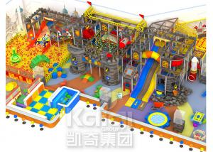 China Anti - Toxic Indoor Inflatable Playground Equipment , Giant Indoor Playhouse With Slide on sale