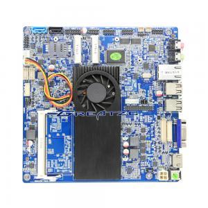 China LVDS Mini ITX Mainboard 1037U , Dual Core Celeron 1037u Processor Industrial Board on sale