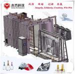 Plastic Products Pvd Vacuum Coating Machine , Thermal Evaporation Coating Unit