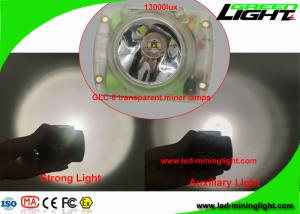 China Highest Lumens 232 USB Rechargeable LED Headlamp for Underground Mine Tunnel on sale