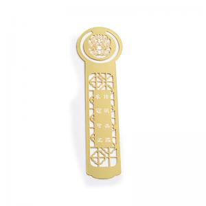 China Durable Personalised Metal Bookmarks, Business Enterprise Souvenir Bookmarks on sale