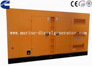 Quality 375KVA 1500rpm Silent Cummins Generator With AC Alternator Closed Radiator Cooling for sale