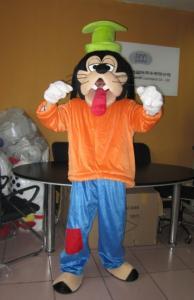 Quality Good ventilation Cartoon Custom Character goofy dog mascot costumes for sale