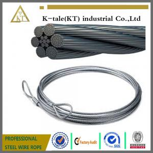 China General Purposed Galvanized Steel Wire Ropes on sale