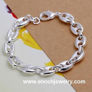 China Korean fashion silver plated friendship bracelets bulk on sale