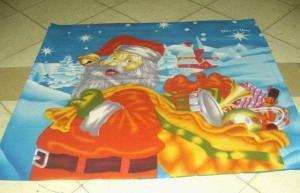 China Christmas Fleece Blanket on sale