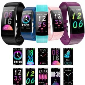 China Q18 Smart Watch Blood Pressure Heart Rate Monitor 1.14 Outdoor Sports Bracelet Q18 on sale