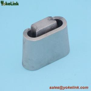 China Made in China C shape Aluminum alloy wedge type tension clamp connector on sale
