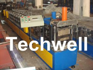 China High Speed Light Steel Stud and Track Roll Forming Machine With PLC Control System on sale