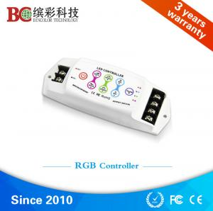 China Bincolor BC-390 290w 12v wireless switch constatnt voltage pwm touching control rgb led strip controller on sale
