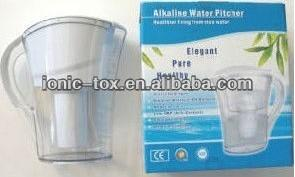 China Portable Ionized Water Ionizer Pitcher Filter for Water Purification on sale