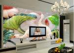 Environmental Protection 3D Leather Wall Panels for TV Wall Decoration