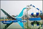 China Water Park Equipment Wave Slide, 11m Height Fiberglass Water Slides for Outdoor Aqua Park wholesale