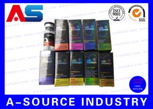 China Recycled  Injection Card Board Boxes 10ml Vial Boxes For Serum  Kit on sale