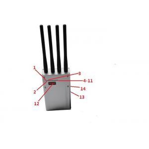Brouilleur portatif de 8 bandes avec 3 fois bloquant la gamme que le brouilleur de technologie de VCO