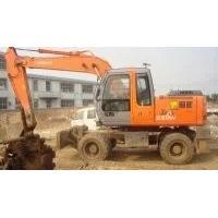 ZX160 Wheel Excavator , Japanese used excavator for sale