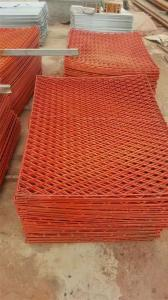 China 1.5 - 7mm Thickness Expanded Wire Mesh , Metal Mesh Fencing For Air Filtration Units on sale