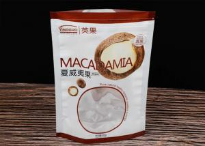 China Hawaiian Fruit Custom Food Packaging Bags / Reusable Packaging Bags Thickness 0.1 MM on sale