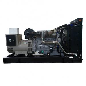 China Air Cooled  500KVA 400KW Open Diesel Generator on sale