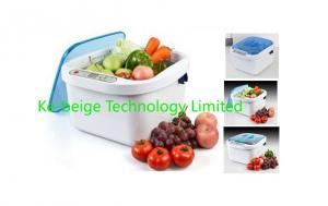 China Portable Household Ultrasonic Cleaner Tableware / Fruit / Vegetable Non-Toxic Cleaning on sale