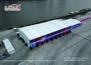 China Luxury sports Tents Aluminum PVC Marquee used for tennis court on sale