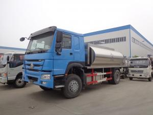 China Howo 266hp 10 Tons Tanker Truck Trailer Modified Bitumen Distributor Truck on sale