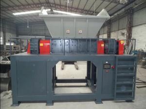 China Customizable two shaft shredder machine plastic pipe hard plastic shredder on sale