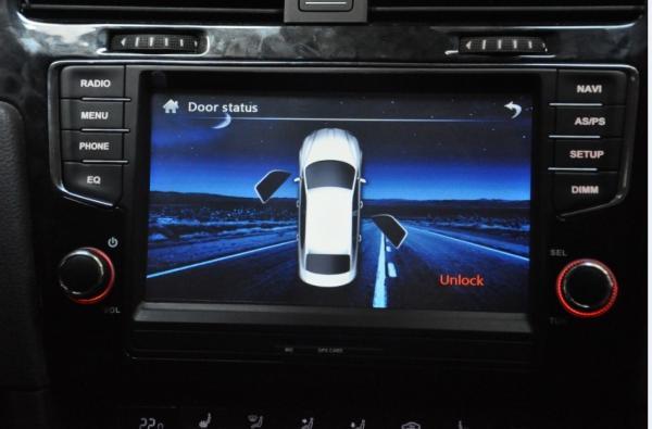 8 Inch Windows CE 6 0 VW DVD GPS with IGO 8 Radio RDS