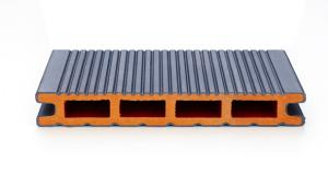 China Co-extruded WPC decking/latest technology/second generation WPC decking on sale