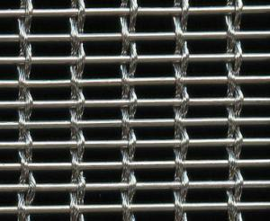 China Rods / Cable Architectural Metal Mesh Screens , Decorative Metal Mesh Sheets on sale