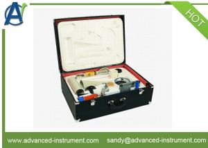 China Slurry Test Kit Mud Test Box Sand Content Water Loss Gravimenter Viscometer on sale